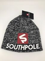 SOUTHPOLE BEANIE HAT MENS GRAY COLD WEATHER
