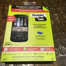 New Nokia E5 3G Wifi Mobile Phone For Straight Talk Wireless