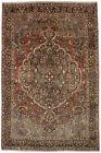 Rare Design Handmade Farmhouse 7X11 Muted Colors Area Rug Oriental Home Carpet