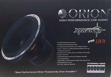 """Orion XTRPRO152D Car 15"""" Dual 2-Ohm DVC XTR PRO Series Subwoofer (8000W Max)"""