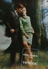 VESTAN CLOTHINGS Fashion Vintage 1966 Swiss advertising poster 36x51 NM