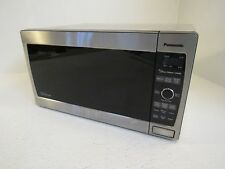 Panasonic Countertop Turntable Microwave Oven U2 Stainless Black 1300w Nn Sd697s