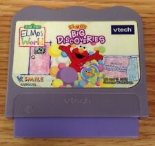 Vtech V-Smile Sesame Street Elmo's World Elmo's Big Discoveries Game Cartridge