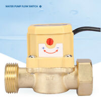 G3/4-G3/4 Thread Water Pump  Flow Sensor Pressure Automatic Control Switch 220V