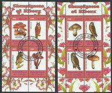 Owls mushrooms 2 used blocks