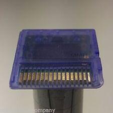 (PURPLE) DS 3DS DSI XL GAME CARTRIDGE CASE SHELL COVER FIX REPAIR CARD