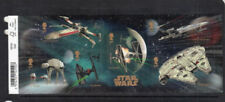 Mint Never Hinged/MNH Star Wars British Stamp Sheets