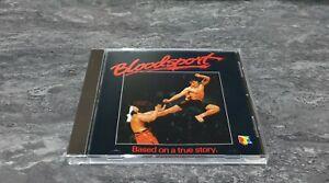 Bloodsport Original Motion Picture Soundtrack CD 1990 GREAT COND Silva Screen