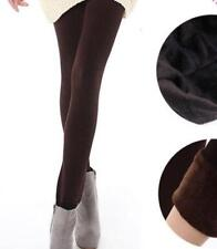 Winter Women's Bamboo Carbon Fiber Double Thermal Pantyhose Warm Tights Pants