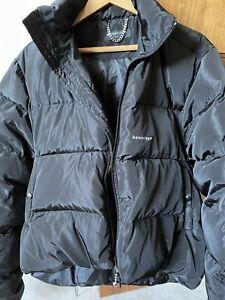 Balenciaga Puffer Jacket Black C Shaped 17AW