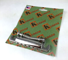 Kluson USA Nickel Aluminum Lite Stop Tailpiece for Gibson® Guitar KLP-1143N