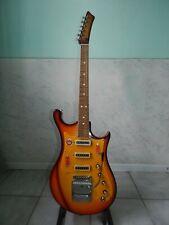 Ural 650A USSR Rare Vintage Electric Guitar Soviet Russian
