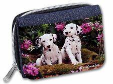 Siberian Husky /'Love You Dad/' Girls//Ladies Denim Purse Wallet Christma DAD-49JW