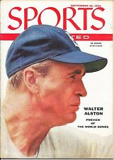 Sports Illustrated 1955 WALTER ALSTON Brooklyn Dodger NEW YORK Baseball NO LABEL