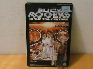 VINTAGE 1979 MEGO BUCK ROGERS ACTION FIGURE (TIGER MAN) UNPUNCHED CARD