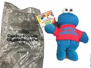 AVON Sesame Street's Baby Cookie Monster Giggle Bean Pal Tyco 1997