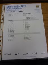 10/04/2014 Manchester City U21 v Reading U21  (single sheet). Thanks for viewing