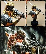 Bust Jin Fantasy-Figurine None Scale Unpainted Resin Model-Kit