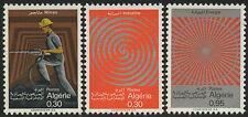 ALGERIE N°481/483**  Mines, Industrie, Energie,1969 ALGERIA Industry, Energy MNH