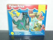 1995 VINTAGE FISHER PRICE LITTLE PEOPLE KNIGHTS DRAGON DUEL GREAT ADVENTURES MIB