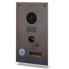 Doorbird Smart Video Türstation - in Bronzeoptik, Unterputz Edition D202-B