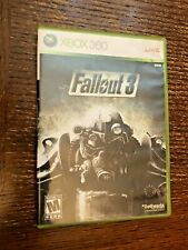 XBOX 360 Live Disc DVD Game LIVE Fall  Out 3 DVD Microsoft