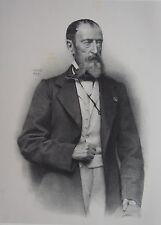 VERNET HORACE EMILE JEAN. (1789-1863). Portrait , 1870