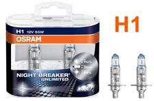 Night Breaker Unlimited Osram H1 55W 12v Halogen Leuchtmittel Duobox Paar