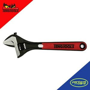 4003IQ - Teng Tools - 8 Inch Adjustable Wrench - Bi-Material Grip