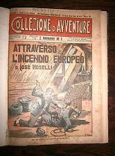 RACCOLTA COLLEZIONE D'AVVENTURE - ANNO VII # Casa Editrice Emilio Picco 1929