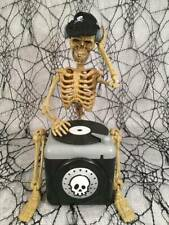 Rare Magic Power Halloween Animated Musical Dj Skeleton Addams Family Theme