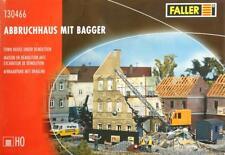 Faller 130466 H0 - Abbruchhaus mit Bagger NEU & OvP