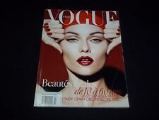 2008 NOVEMBER VOGUE PARIS MAGAZINE IN FRENCH - VANESSA PARADIS - MODELS - D 1389