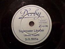 """Ländler CHAPELLE """"Gammischdorfer Chaussure plate'L/Tegernsee Ländler"""" Derby 20cm"""