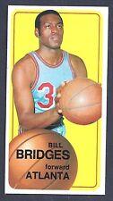 1970 Topps #71 Bill Bridges Forward Atlanta NM Plus