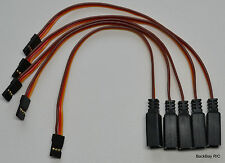 (5) JR/Hitec Compact Y Servo Extension Leads / Splitters with 15CM 22awg Wire