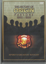 History of State Of Origin Part 1 (1980 - 1989) DVD The First Ten Years