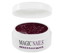 UV GEL 15 ml GLITTERGEL GLITTER PINK 09