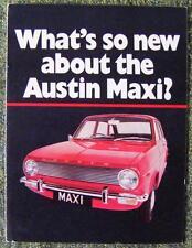 AUSTIN MAXI SALES BROCHURE CIRCA 1973?