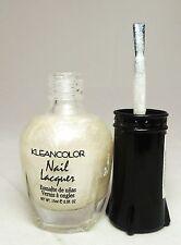 1PC Kleancolor Nail Polish Lacquer #157 Metallic White Nail Polish