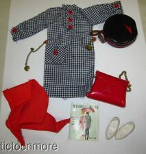VINTAGE IDEAL TAMMY DOLL FASHION CLOTHES #9172 TRAVEL ALONG SET ALMOST COMPLETE