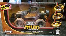 Jeep wrangler Rubicon Mud Slinger Radio Control 1570 NEW