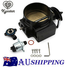 102mm Throttle Body + TPS IAC Throttle Position Sensor For LSX LS LS1 LS2 LS7 BK