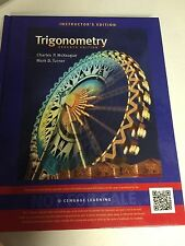 Triginometry 7th ed. Instructor's Edition ISBN 1111989796