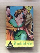 LIBRI -  GIALLI DEL TRIANGOLO VERDE - N°15 1958 -GLI OCCHI DEL COBRA DI T.JACOBS