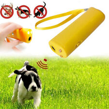 Ultrasound Repeller Control Dog Training  Pet Trainer Device 3 in 1 Anti-barking