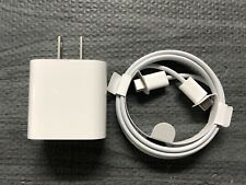 Apple USB C To C Cable For Ipad Pro + 18W USB-C Power Adapter Fast Charger OEM