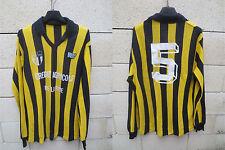 VINTAGE Maillot porté n°5 C.S BRAYTOIS BRAY-SUR-SEINE NR maglia worn shirt 70's