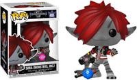Kingdom Hearts 3 Sora Monsters Inc Flocked Pop! Vinyl Figure DAMAGED OUTER BOX