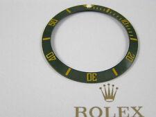 Verde Oro bisel de cerámica insertar PARA ROLEX GMT 16610, 16800, 16803, 16808, 16613